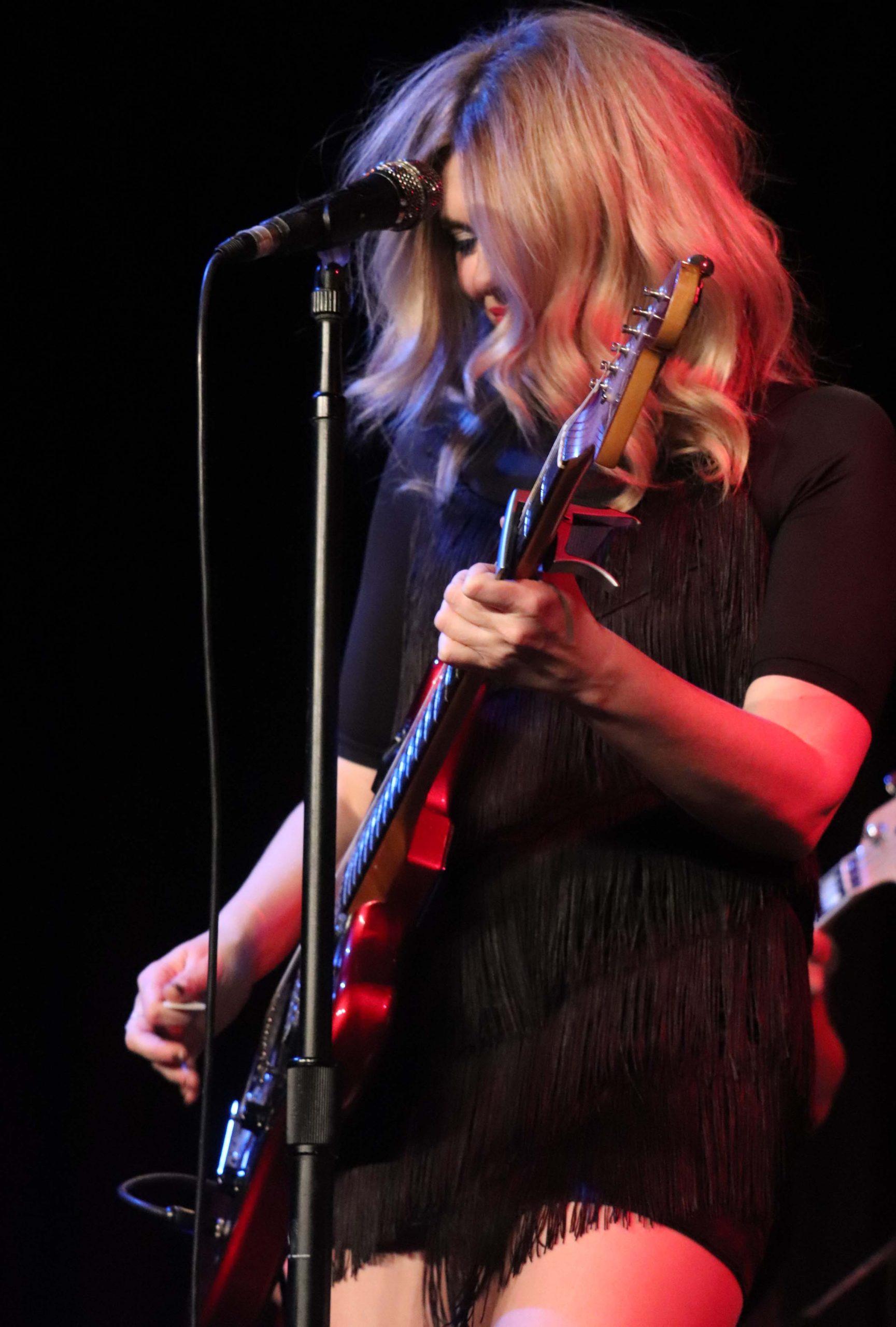 Eva Ryjlen en concierto